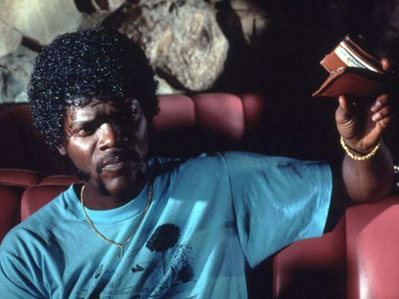 Did you know Samuel L Jackson's iconic wallet from 'Pulp Fiction' actually belonged to director Quentin Tarantino?