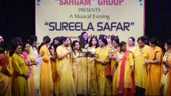 A musical evening by the ladies of Sargam Group in Jaipur