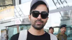 Punjabi singer Harrdy Sandhu spotted at Jaipur airport