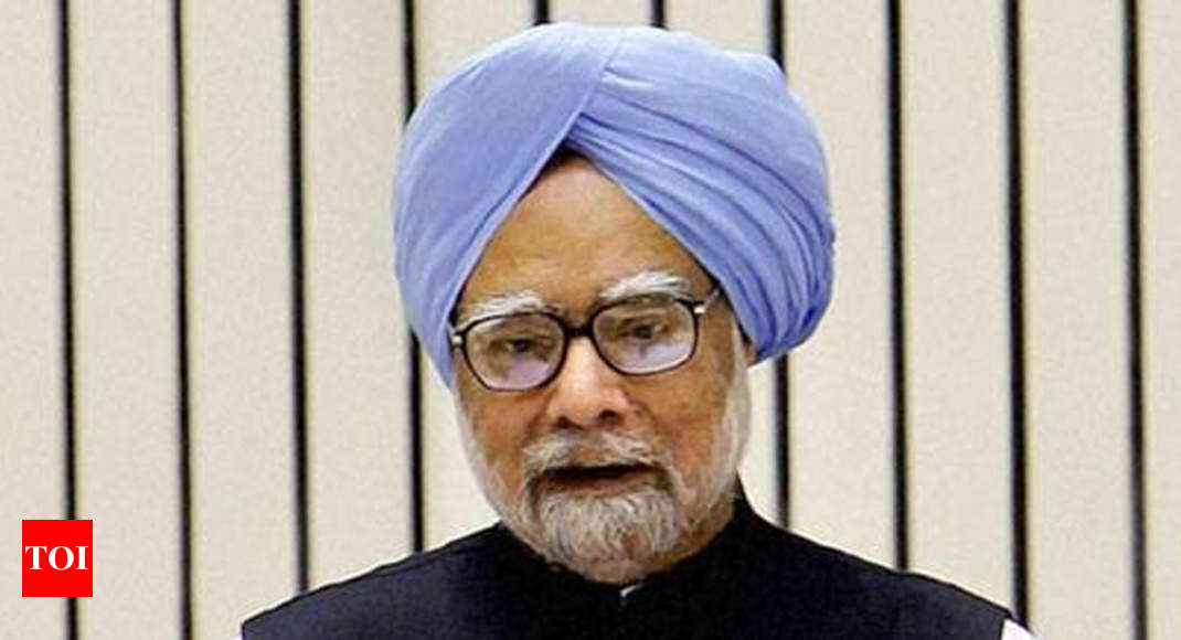 RBI-Finance Ministry ties have hit a low, says Manmohan Singh - Times of India