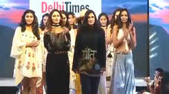 Rina Dhaka presents her exquisite collection at DTISW 2018