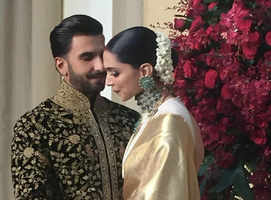 Watch: DeepVeer's entry at the reception