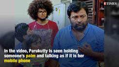 Uppum Mulakum's Parukutty looks too cute in this video