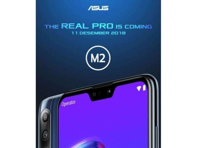 Asus ZenFone Max Pro M2 official poster confirms triple rear camera and notch display