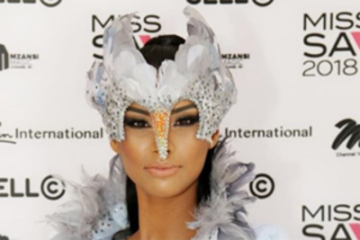 Miss Universe South Africa trolled for her national costume