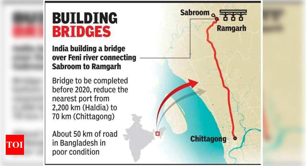 For better link, India seeks to widen 35km of Bangladesh road | India News  - Times of India