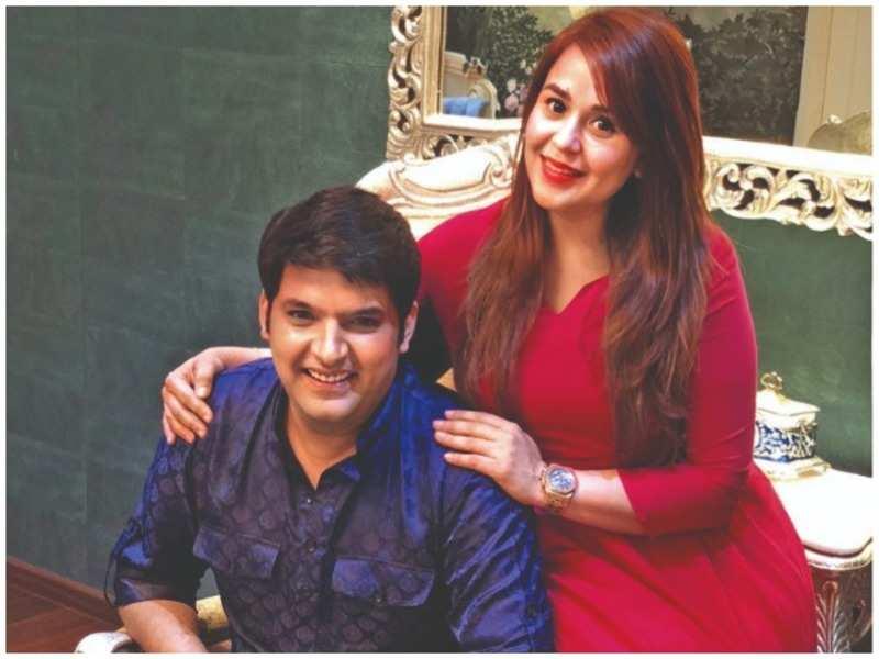 Kapil Sharma with Ginny Chatrath