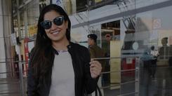 Singer Harshdeep Kaur spotted at Jaipur airport