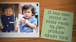 Taimur Ali Khan toy story: How it made its way to Kerala stores!