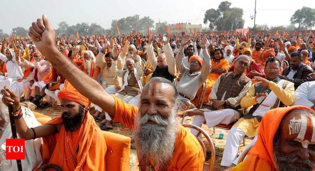 El ministro dijo que la llamada de la llave de memoria Ram templo después de diciembre de 11: Vidente - Times of India 1