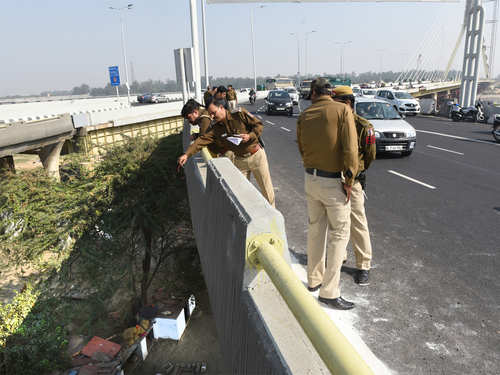 signature bridge deaths delhi police increase deployment of cops on