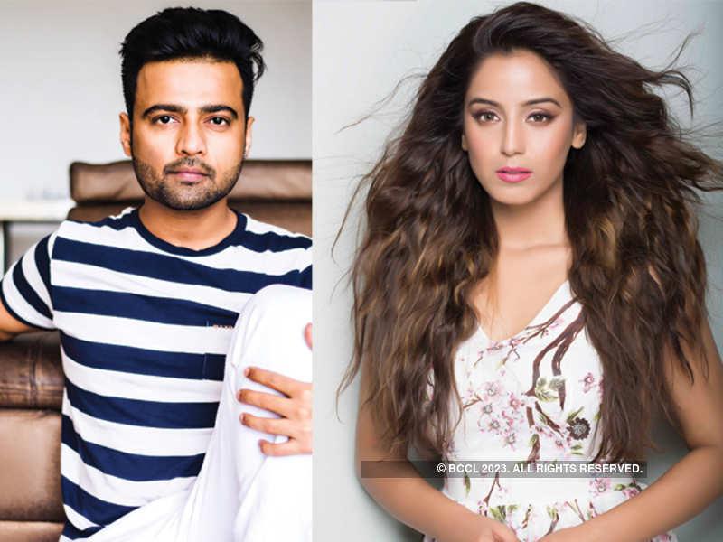 Manish Naggdev and Srishty Rode