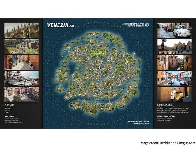 Pubg New Map Heres How Pubgs Venice Map May Look Like