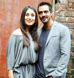 Arjun with Kareena Kapoor