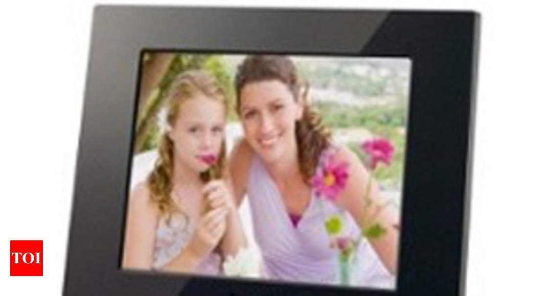 Sony Launches Digital Photo Frames Times Of India