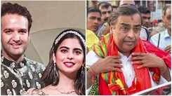 Mukesh Ambani offers daughter's wedding invitation at Tirupati temple