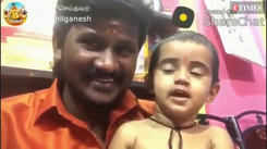 Senthil Ganesh's little daughter is also a good singer; Watch the video