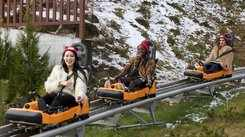 Miss Supranational 2018 contestants during The Alpine Coaster ride