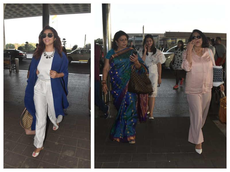 priyanka chopra wedding pics with parineeti
