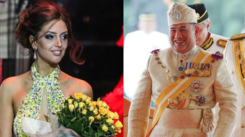 Moscow Beauty queen marries 49 year old king after converting to Islam