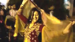 Actress Paridhi Sharma attends wedding in Pink City