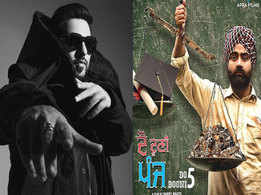 Badshah unveils the poster of his Punjabi production venture 'Do Dooni Panj'