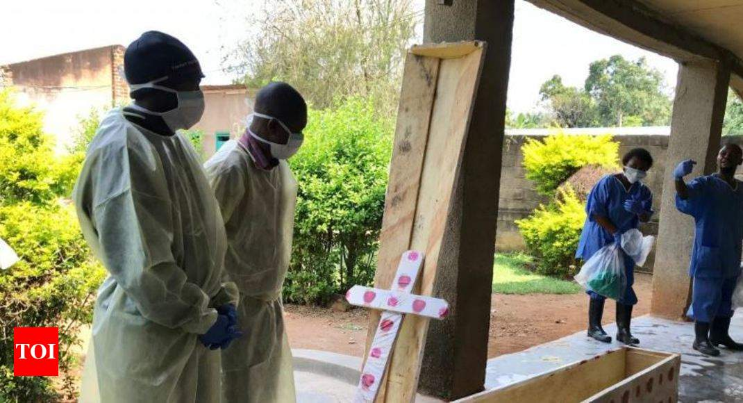 Ebola outbreak in east Congo now world's second biggest - Times of India