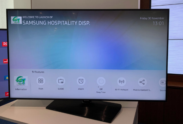 Samsung launches 4K Tizen TVs for hotels that boots up in 2 seconds