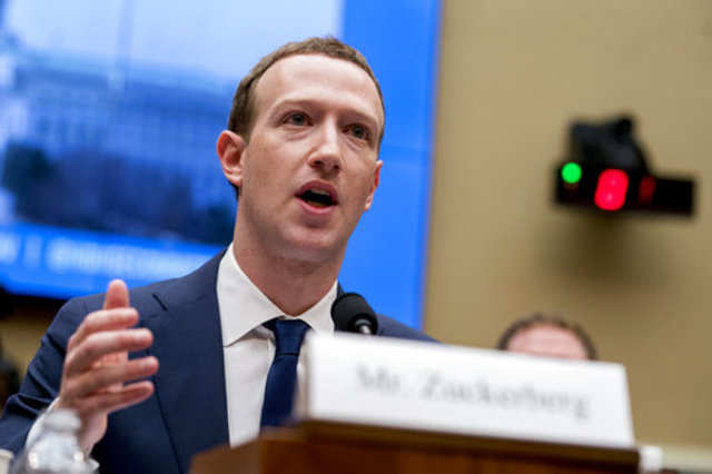 Who is the head of Facebook?