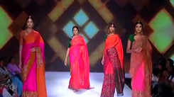 Showcasing Sakhi Fashion collection at BTFW 2018