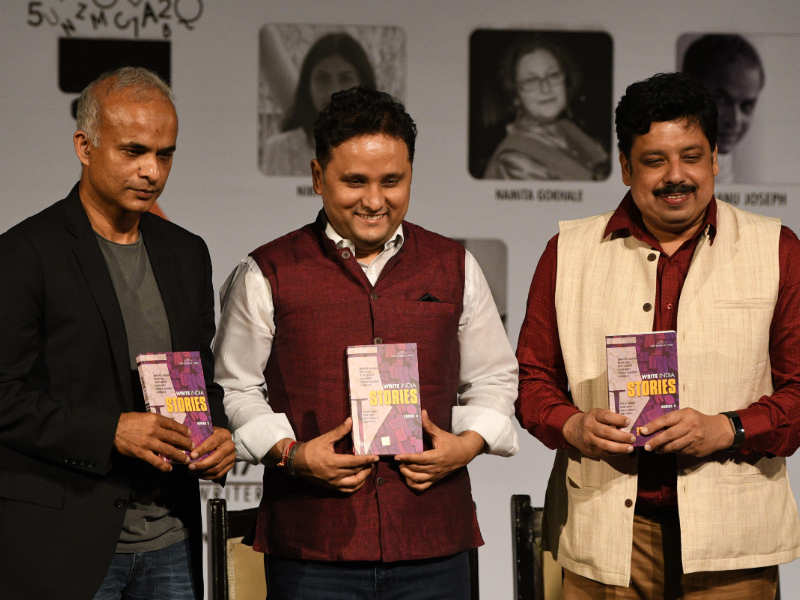 At Write India 2.0 finale, a new book