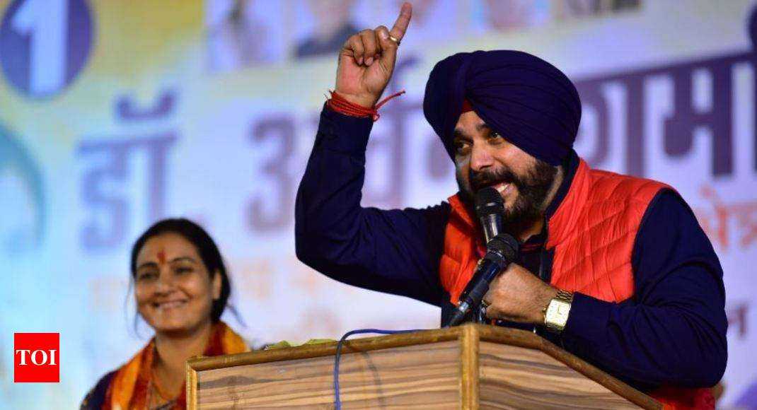 Navjot Singh Sidhu Issue May Come Up At Punjab Cabinet Meeting