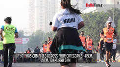 Gurgaon's biggest running event - The Millennium City Marathon - took place on Sunday morning