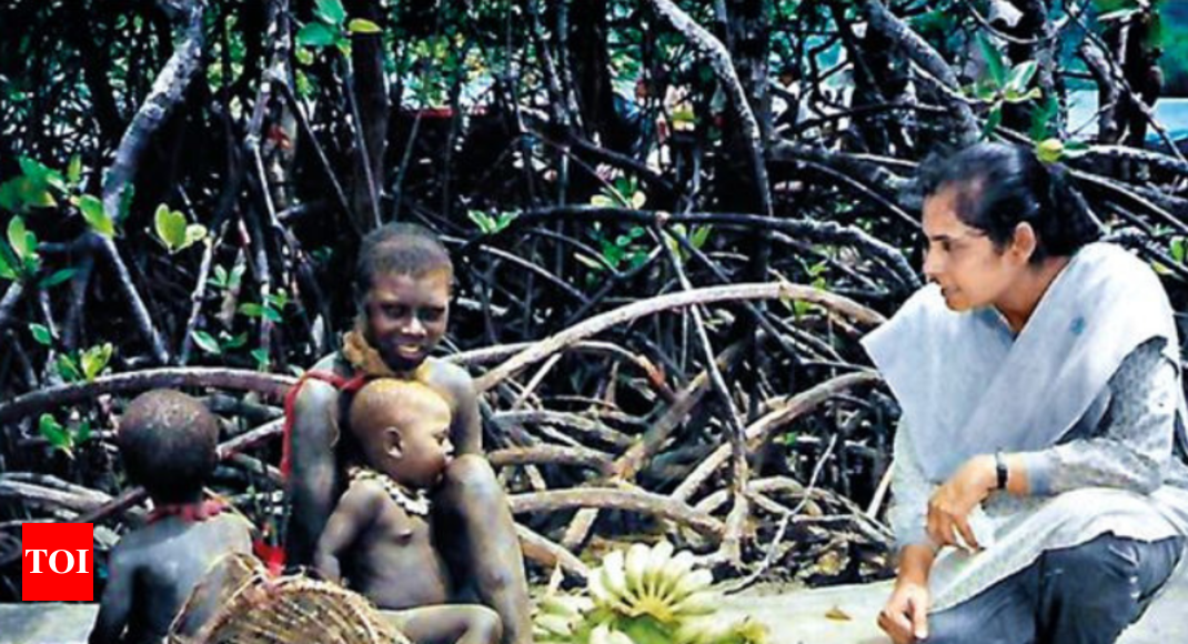 First contact: The woman who softened the Sentinelese ...