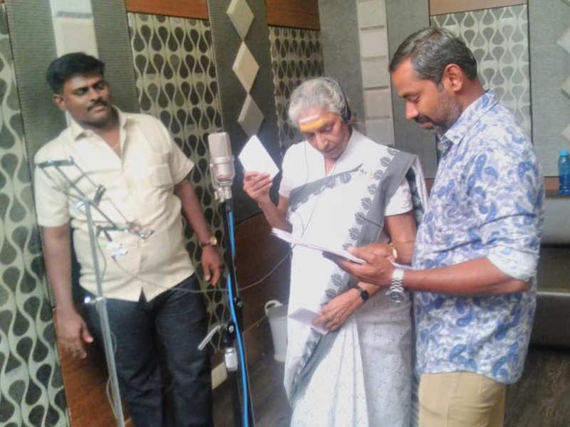 S Janaki returns to playback singing