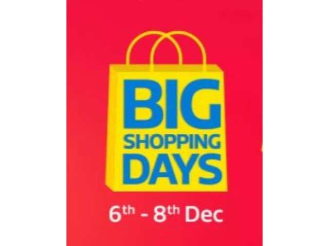 b3ef4faaeee501 Flipkart Big Shopping Days starts tonight  These users to get early access
