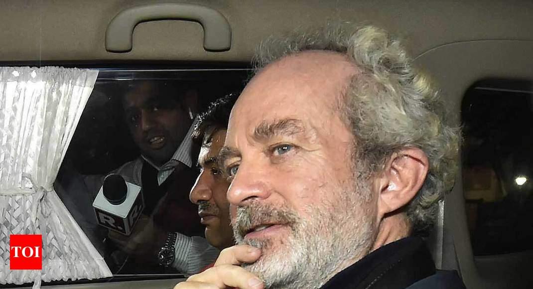 Chopper scam: Michel sent to 5-day CBI custody