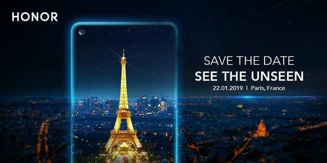 Honor smartphone with in-screen camera to launch on Jan 22 in Paris