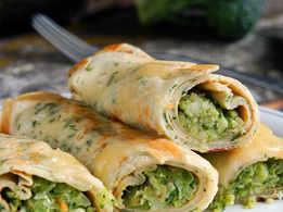 Broccoli Kathi Roll