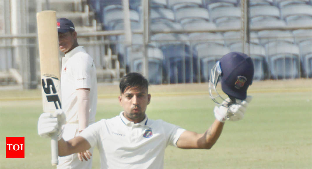 Ranji Trophy: Swapnil Gugale ton helps Maharashtra dominate Mumbai - Times of India