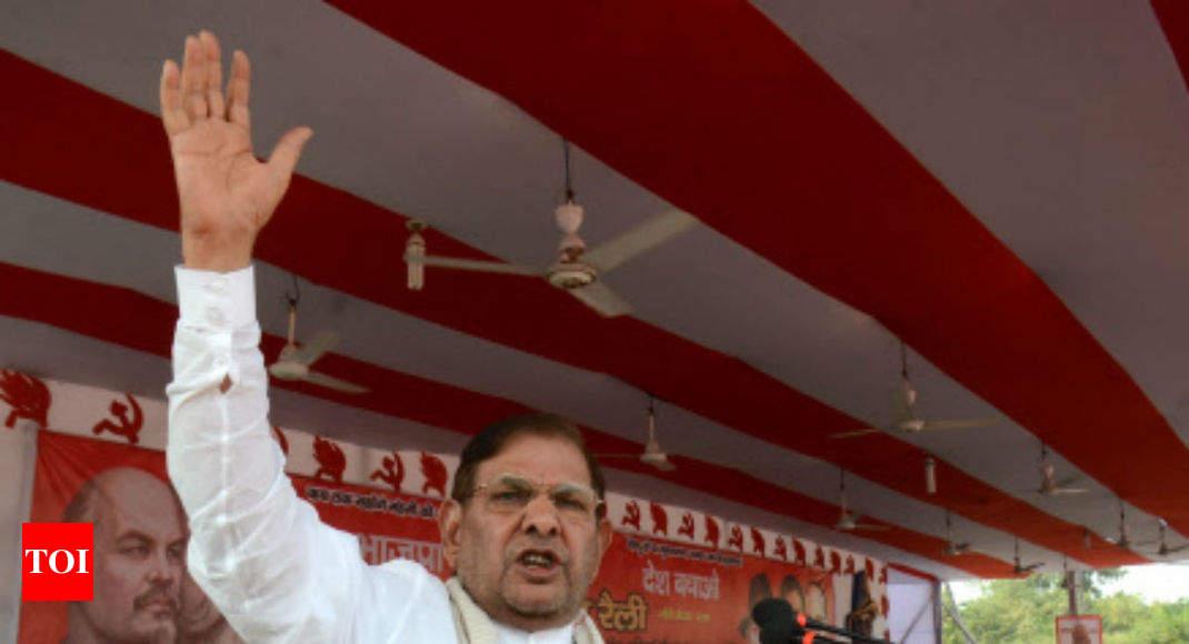 Sharad Yadav's 'fat' jibe at Vasundhara Raje stirs row - Times of India