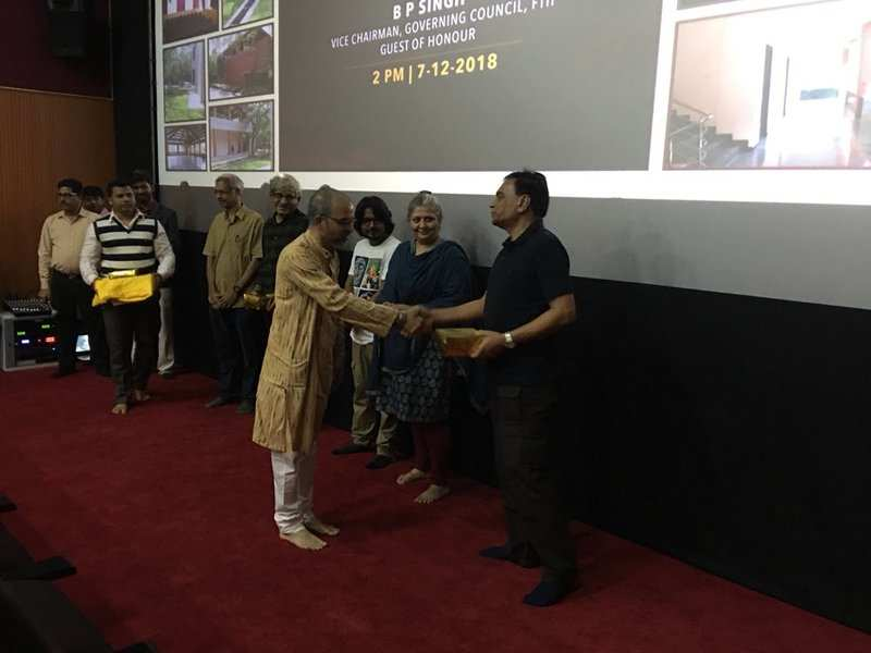 Sriram Raghavan visits FTII to inaugurate Classroom Theatre Complex