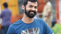 Pranav Mohanlal shoots a New Year scene in Varkala