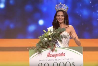 Valeria Vazquez of Puerto Rico crowned Miss Supranational 2018