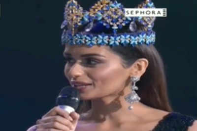 Manushi Chhillar's final speech as Miss World 2017