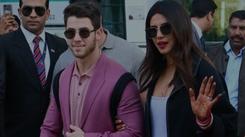 Newlyweds Priyanka Chopra and Nick Jonas in Udaipur