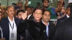 Bollywood superstar SRK arrives in Udaipur