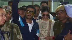 Bollywood couple Ranveer Singh and Deepika Padukone in Udaipur