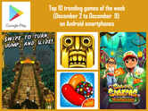 Top 10 trending games of the week (December 2 to December 9) on Android smartphones