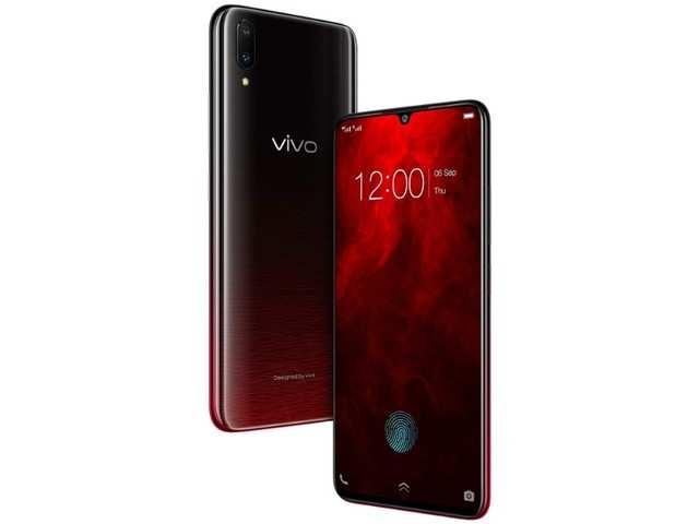Vivo V11 Pro Supernova Red: Vivo V11 Pro Supernova Red